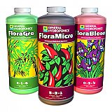 Flora Grow, Micro, Bloom Sets