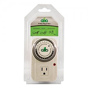 Gro1 Mechanical Pin Timers 120 & 240v